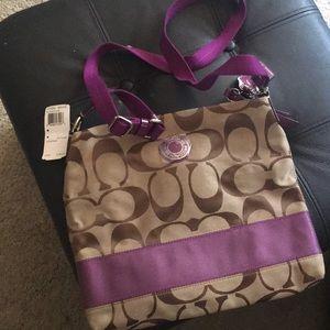 Coach cross body bag